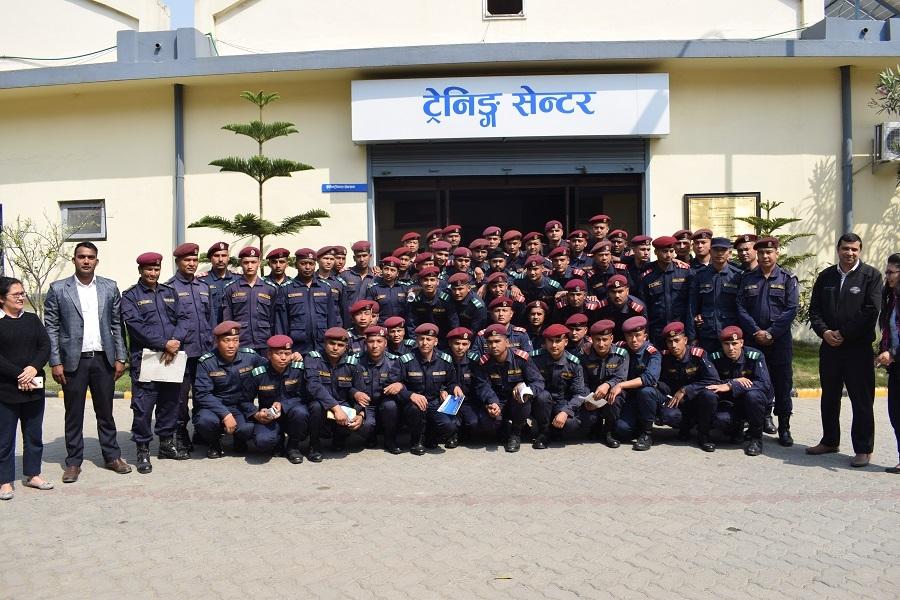 training-nepal-police